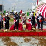 Ground breaking ceremony of CTCBIO Vietnam Factory.