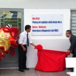 Co-sponsored to open Han Viet Lab at Nong Lam University.